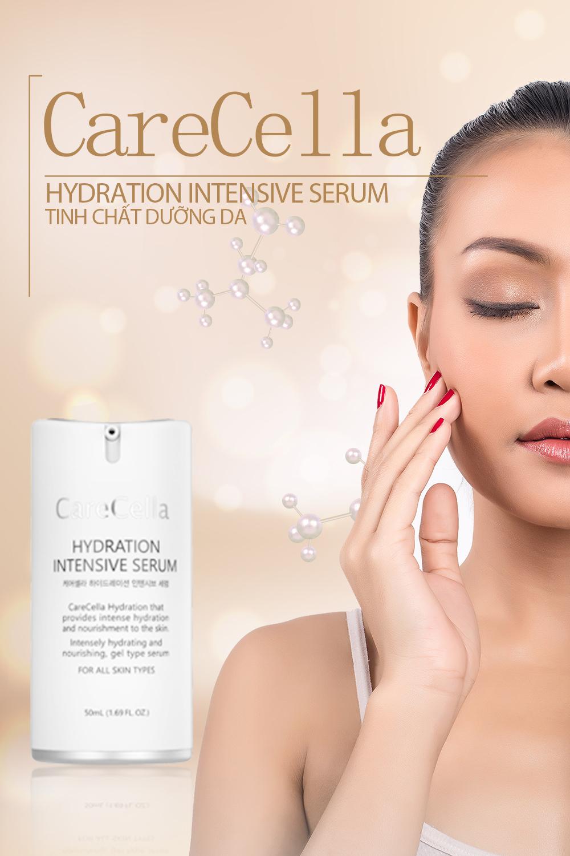 Review tinh chất dưỡng da carecella hydration intensive serum có tốt không ?