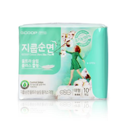 Băng vệ sinh GCOOP Cotton Ultra Slim Plus M