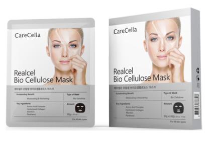 Gcoop CareCella Realcel Bio Cellulose Mask Mặt nạ dưỡng da cao cấp CareCella