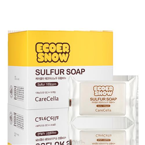 Xà bông CareCella ECOER SNOW / CareCella Ecoer Snow Sulfur Soap